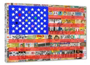 « America's Pastime » (Passe-temps américain)-techniques mixtes (environ 1,60x1,20m)  10ème billet | Artistes cubains à Cuba et aux USA 15 300x216
