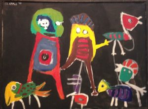 13eme billet | « L'Art est une fête » …. …selon KAREL APPEL ! 3 5 300x220