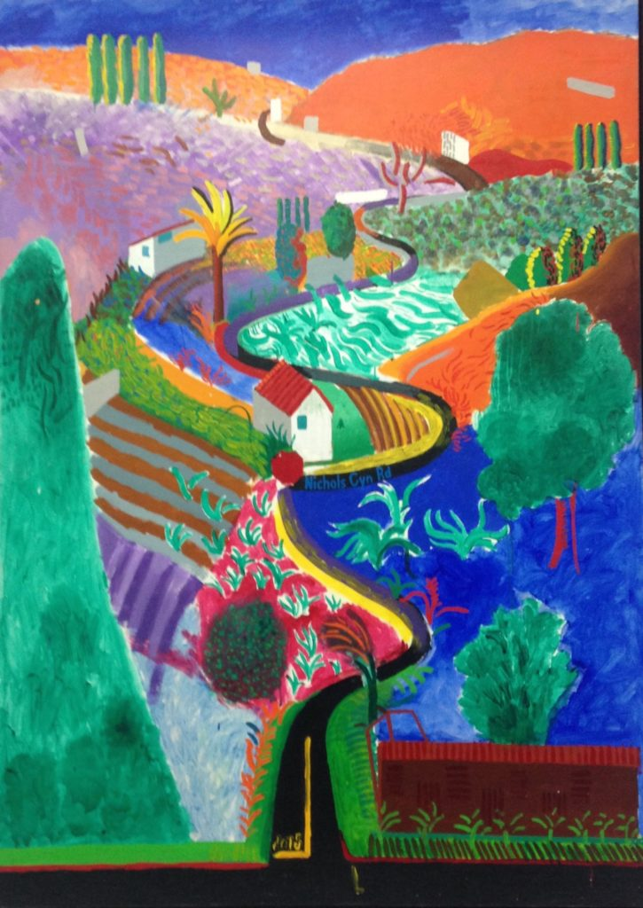23ème billet | Le choc « David HOCKNEY » ! 7 725x1024