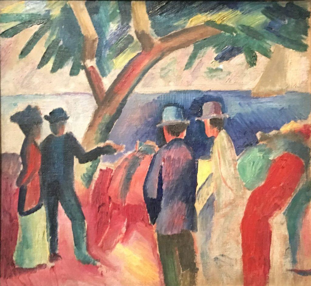 57ème billet | L'exposition «Franz MARC et August MACKE, l'aventure du cavalier bleu» 5 1024x942