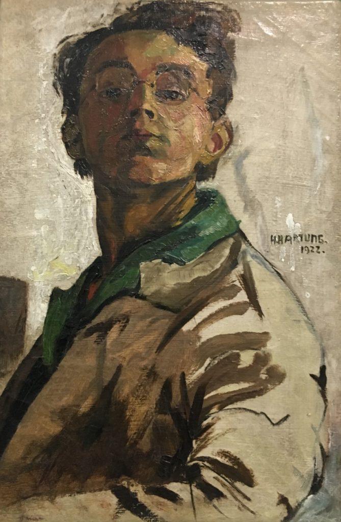 66ème billet | Exposition « Hans HARTUNG (1904-1989), la fabrique du geste » au Musée d'Art Moderne de Paris 2 669x1024