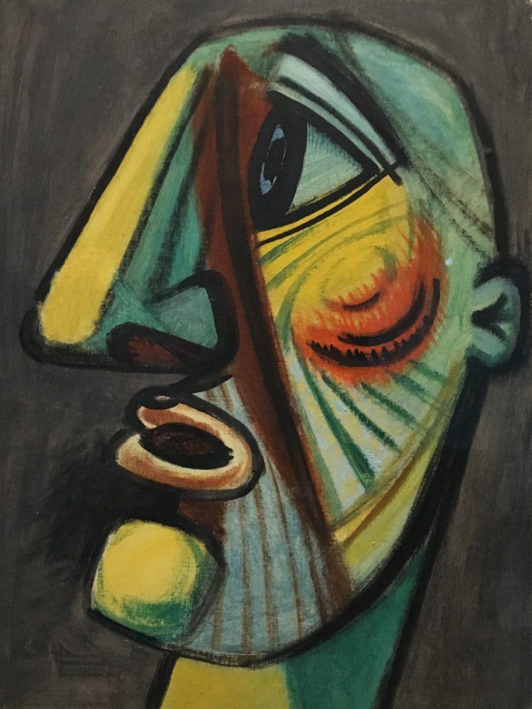 66ème billet | Exposition « Hans HARTUNG (1904-1989), la fabrique du geste » au Musée d'Art Moderne de Paris 6 768x1024