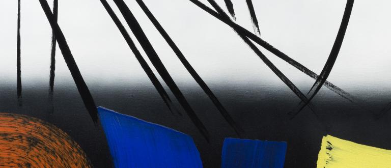 66ème billet | Exposition « Hans HARTUNG (1904-1989), la fabrique du geste » au Musée d'Art Moderne de Paris fga ba hartu 0004 16bites rvb c sandrapointet v2