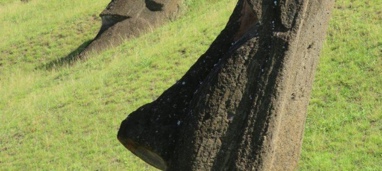 74ebillet  Les sculptures de pierre, ou moais, de l'Ile de Pâques 14 Fran  oise Revol OQuin FrancescArts francoiserevol oquin